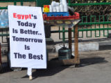 Egypt's today is better' Banner